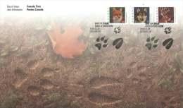 2000  Mid-value Definitives: Fox, Wolf, Deer  Coils  Sc 1879-81 - 1991-2000