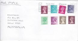 Great Britain 2001 Cover Sent To Australia - 1952-.... (Elizabeth II)