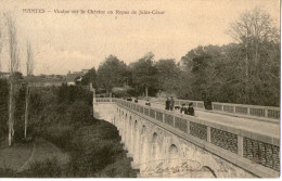 Nantes Viaduc Sur La Chezine Au Repos De Jules Cesar 1904 - Nantes
