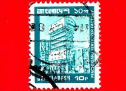 BANGLADESH - USATO - 1978 - Fabbrica Di Fertilizzanti - Industria - Piante - Fenchuganj - 10 - Bangladesh