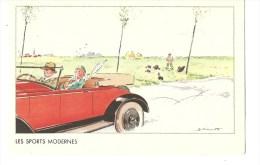 CPA-collection De L´Hémostyl-Hépamoxyl-Dess In Signé Par Illustrateur- Les Sports Modernes Cp Non Circulée - Non Classés