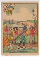 CP Barre Et Dayez - Les Douze Mois De L´année MARS - Le Bélier - N° 1288 C - Illustrateur Illisible - Barday