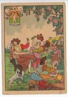 CP Barre Et Dayez - Les Douze Mois De L´année MAI - Les Gémeaux - N° 1288 E - Illustrateur Illisible - Barday
