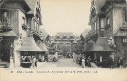 Deauville - L´Entrée Du Normandy-Hôtel - Carte LL N°38 Non Circulée - Deauville