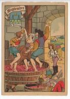 CP Barre Et Dayez - Les Douze Mois De L´année SEPTEMBRE - La Balance - N° 1288 J - Illustrateur Illisible - Barday