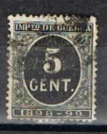 Sello 5 Cts Impuesto De Guerra 1898, Edifil Num 236 º - Impuestos De Guerra