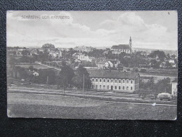 AK SCHÄRDING Bahnhof Ca.1915 /// D*15013 - Schärding