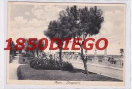 PESARO - LUNGOMARE  F/GRANDE  VIAGGIATA ANIMATA - Pesaro