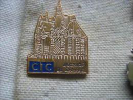 Pin´s De La Banque CIC, Domaine Bel-Air - Banques