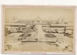 PARIS - Palais Du Champ De Mars, Exposition Universelle - 1878 ? - Photo Cabinet , Pas De Mention De Photographe - Photos