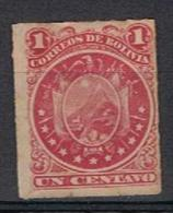 Bolivie Y/T 23 (*) Zonder Gom / Sans Gomme - Bolivie