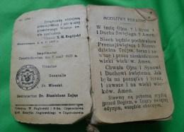 1927 NAJSW Serce Jezusa PRAYER BOOK Hymnals IN POLISH For Christian Catolic - Books, Magazines, Comics