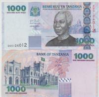 Tanzania 1000 Shillings 2003 Pick 36b UNC - Tanzania