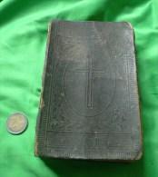 Antique Old Latvian Book Dzeesmu Grahmata Luttera Draudzei Behre Jelgawa 1879 - Old Books