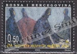 Bosnia Herzegovina - Mostar - Croatia 2003 Yvert 84, 800th Aniv Abjuration Patarenes - MNH - Bosnia Herzegovina