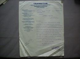 COLOGNE TRANSITUS JANSEN & KÜPPER SOCIETE D´EXPEDITIONS COURRIER DU 7 JANVIER 1927 - Transport