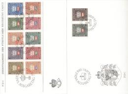 Liechtenstein FDC Dienstmarken 45 - 56 - FDC