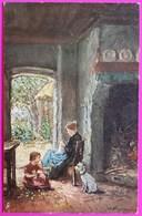 Cpa N° 1534 Raphael Tuck Oilette Illustrateur Heyermans Illustration Intérieur Maison Flamande - Tuck, Raphael