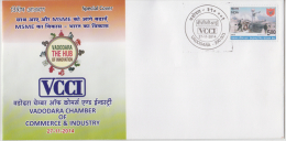 India 2014  Vadodra Chamber Of Commerce & Industry Special Cover # 59971   Indien Inde - Factories & Industries