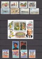 Liberia1994-1996,4 Compl Sets/1 Block,topical Stamps,motiefzegels,timbres Topiques,MH/Ongebru Ikt( A1469) - Liberia