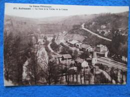 Aubusson. La Gare Et La Vallee De La Creuse. La Creuse Pittoresque 872. MFA: Mothe (Pierre Et Henri). - Aubusson