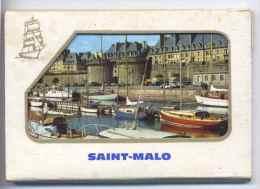 Carnet De 10 Photos Sur Saint Malo Voilier Ecole Scan Total Des Vues - Gerardmer