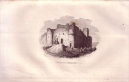 1834 - Gravure Sur Cuivre - Arlay, Le Château - FRANCO DE PORT - Estampes & Gravures