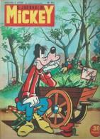 LE JOURNAL DE MICKEY  N° 153  -  Déssin: WALT DISNEY   -  AVRIL 1955 - Journal De Mickey