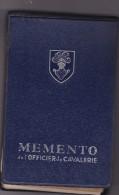 Memento Officier De Cavalerie 1961 - Classeur 300 Pages - Nombreux Graphiques - Chars Tank Armes - Francese