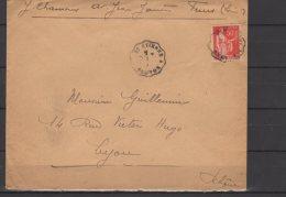 "Courriers Convoyeurs Ligne "" St Etienne A Roanne "" - Postmark Collection (Covers)"