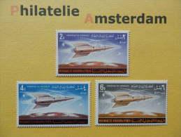 YM Kingdom 1964, SPACE RUIMTEVAART ESPACE: Mi 76-79, ** - Space