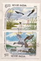 India Used Stamps, Very Scarce! - Storks & Long-legged Wading Birds