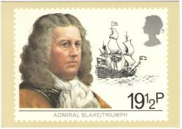 REGNO UNITO - UNITED KINGDOM - GREAT BRITAIN - GB - 1982 - MARITIME HERITAGE - Admiral Blake / Triumph - Hounslow - F... - FDC