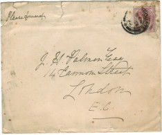 GB - Regno Unito - GREAT BRITAIN - UK - 1899 - One Penny - Viaggiata Per London, England - 1840-1901 (Regina Victoria)