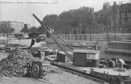 PARIS BERGES DE LA SEINE COIN DE L'ILE SAINT LOUIS - Unclassified