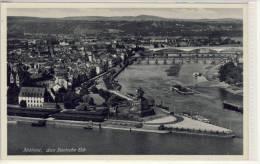 """KOBLENZ, Das Deutsche Eck ,   """"Der Malerische Rhein Von Mainz Bis Köln"""" - Koblenz"""