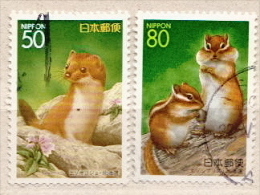 Japan Used Stamps - Rodents