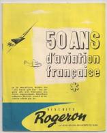 Une Image à Choisir De L´album D´images 50 Ans D'aviation Française Des Biscuits Rogeron. Vers 1950 - Chromos