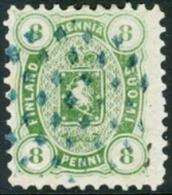 Finland 1875-84 8p Wapentype Tanding 11x11 GB-USED - Gebraucht