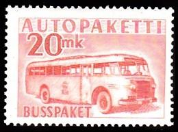 1952-1958. Mail Bus. 20 Mk. Orange. (Michel: 7) - JF100593