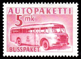 1952-1958. Mail Bus. 5 Mk. Carmine Rose. (Michel: 6) - JF100592