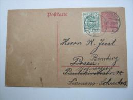 1920, Karte Aus  Bydgozcz - ....-1919 Provisional Government