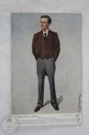 Old 1905 Illustrated Postcard - Vanity Fair Series - Sir Edward Grey - Posted - Personajes Históricos