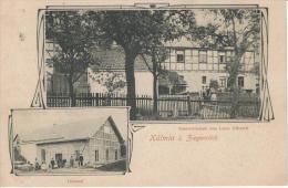 KÜLMLA Ziegenrück Schöndorf - Gastwirtschaft L ULITZSCH Belebt! - 1917 - Deutschland