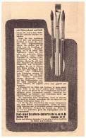 Original Werbung - 1930 - Mal- Und Zeichenunterricht GmbH , Stifte , Skizzenbuch , Pinsel !!! - Schreibgerät