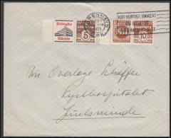 1931-1933. Wavy-line. RUNDSKUEDAGEN 1931 + 10 øre Yellowbrown And Berlingske Tidende + ... (Michel: R 48) - JF171156 - Abarten Und Kuriositäten