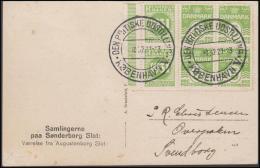1931-1933. Wavy-line. Complete Bookletpane With 6-block RUNDSKUEDAGEN 1931 + 5 øre Yell... (Michel: R 47) - JF171260 - Abarten Und Kuriositäten