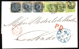 1865. Dotted Spandrels.  Fantastic  30 Skilling Franking On Beautiful Cover From ODENSE... (Michel: 5+) - JF112127 - 1851-63 (Frederik VII)