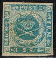 1855. Dotted Spandrels. 2 Skilling Blue. (Michel: 3) - JF158444 - Oblitérés