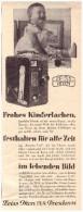 Original Werbung - 1930 - Zeiss Ikon , Dresden , Kamera , Photographie !!! - Film Projectors